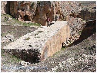 Археологами обнаружен крупнейший монолит в истории