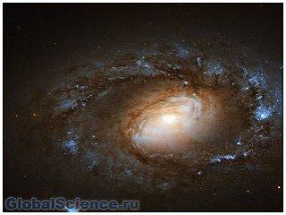 Спиральная галактика в созвездии Большой Медведицы