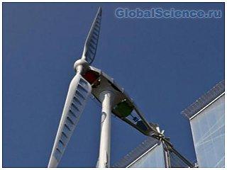 Ученые спроектировали бесшумную турбину ветрогенератора