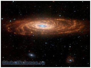 К преждевременному старению галактик могут быть причастны черные дыры