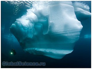 В Баренцевом море обнаружено огромное количество льда