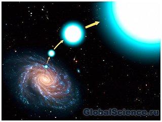 Источником гиперзвуковых звезд является «ассиметричная» сверхновая