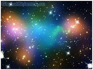 Заполненное темной материей скопление звезд состоит из «разрушенных» галактик