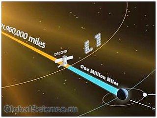 Произвести фотосъемку солнечной стороны Земли планирует спутник DSCOVR
