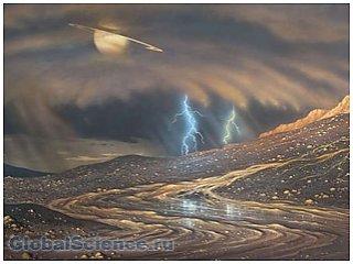 Как на Титане формируется атмосфера