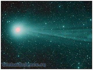 Над кометой Чуримова пыль кружится, летает