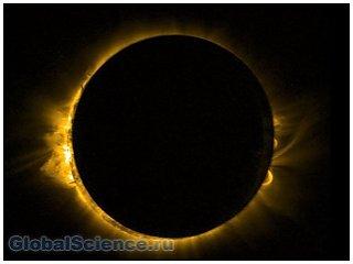 Приход астрономической весны ознаменовало полное затмение Солнца