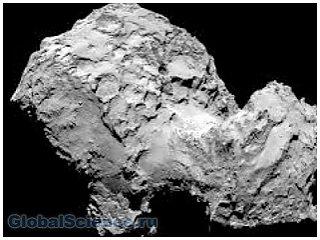 Новую фотографию кометы представила Розетта