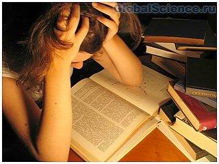 Подготовки к экзаменам в ночное время являются бесполезными