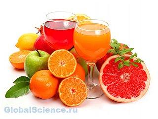 Цитрусовые соки улучшают работу мозга пожилых людей