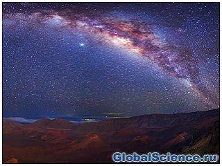 Учеными астрономами была определена масса галактики млечного пути
