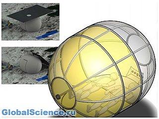 Для лунных космонавтов создали надувную палатку