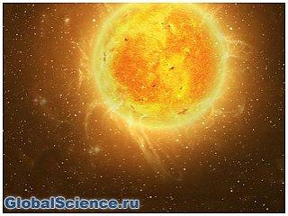 На солнце зарегистрирована мощная вспышка