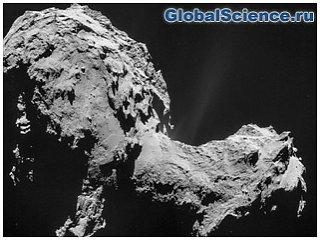 На комете Чурюмова-Герасименко найдены признаки жизнедеятельности микроорганизмов