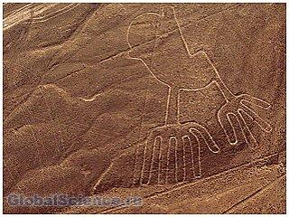 Ученые обнаружили геоглифы в большой пустыне