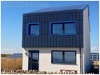 В Великобритании ученые разработали экодом на солнечных батареях