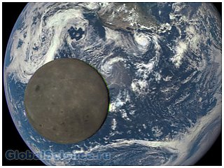 Специалисты NASA сделали снимок обратной стороны Луны