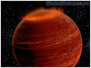 Полярное сияние впервые обнаружено за пределами Солнечной системы