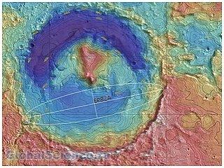 Российские астронавты обнаружили на поверхности Марса опасную зону