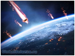 Реальную угрозу земле представляет метеоритный дождь