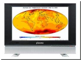 Глобальное потепление: Телевизоры могут стать опаснее угольных электростанций