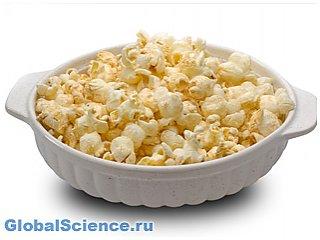Ученые из США доказали, что попкорн полезен для человека