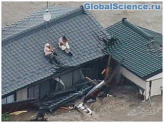 Наводнение стало главной причиной заражения воды в Японии
