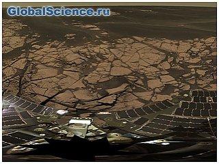 Панорама Марса и песчаные дюны, снятые Curiosity