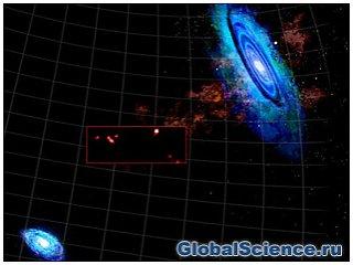 Астрономы обнаружили нити из галактик