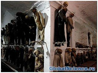 Катакомбы Капуцинов и мумии в Палермо