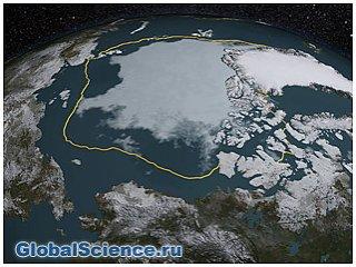 НАСА: сокращение льдов Арктики поставило новый рекорд