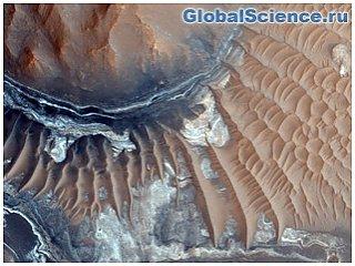 На Марсе найдена солёная вода в жидкой форме