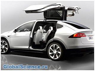 Новая презентация Tesla Model X