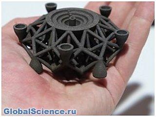 Ученым удалось воссоздать часть древнего метеорита в виде 3-D модели