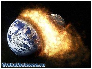 Ученые: Земля слеплена из двух планет