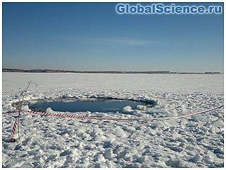 Ученые ищут магнитные аномалии на месте падения метеорита «Челябинск»