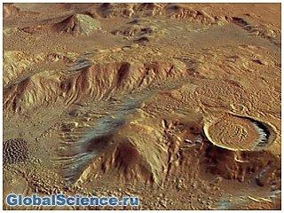 Ученые выяснили, как возникают загадочные курганы в кратерах на Марсе