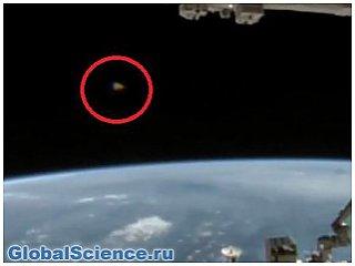 Уфолог обнаружил на видео с веб-камеры МКС странный НЛО