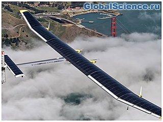 Самолет на солнечных батареях Solar Impulse 2 вылетел в Нью-Йорк