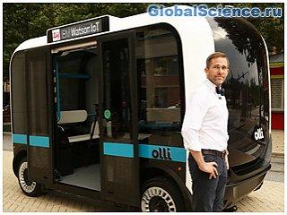 Суперкомпьютер IBM Watson поможет людям общаться с напечатанными на 3D-принтере автобусами