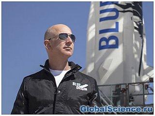 Джефф Безос получил приз Хайнлайна за вклад в развитие космических технологий