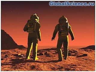 Космическая радиация опасна для членов экспедиции на Марс