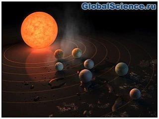 NASA показало видеозапись звезд, на которых возможна жизнь