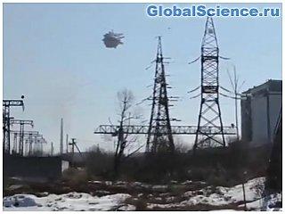 На границе России и Казахстана на видео засняли три НЛО