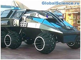NASA показало концептуальный марсоход в стиле Бэтмобиля на видео