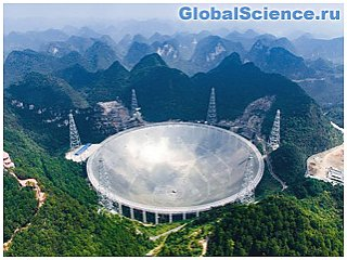 Китай построил 500-метровый радиотелескоп для поиска пришельцев