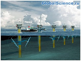 Система выработки энергии от океанских течений протестирована в Японии
