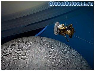 Зонд Cassini сгорел в атмосфере Сатурна