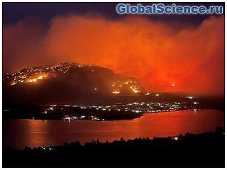 Огонь Бутлега будет формировать погоду в Орегоне