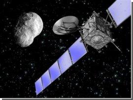 Космический зонд Европейского космического агентства встретился с астероидом Steins. Видео